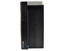 DELL Precision T7610 Tower 2x Intel Xeon E5-2620v2 2.1GHz 16GB 4x 1TB DVD nVidia Quadro K4000 Windows 10 Professional