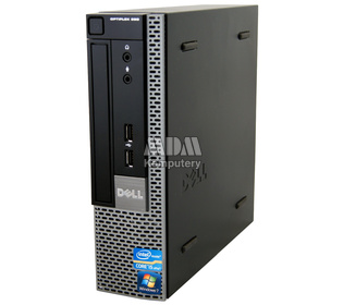 DELL Optiplex 990 USFF Intel Core i5-2400s 2.5GHz 4GB 250GB DVD-RW Windows 10 Home PL