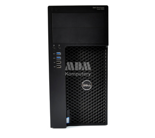 DELL Precision 3620 Tower Intel Xeon E3-1245 v5 3.5GHz 16GB 256GB SSD + 1TB DVD-RW nVidia Quadro M2000 Windows 10 Home PL