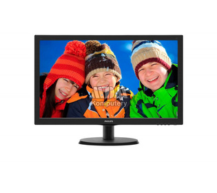 Philips 21.5 223V5LHSB LED HDMI - NOWY