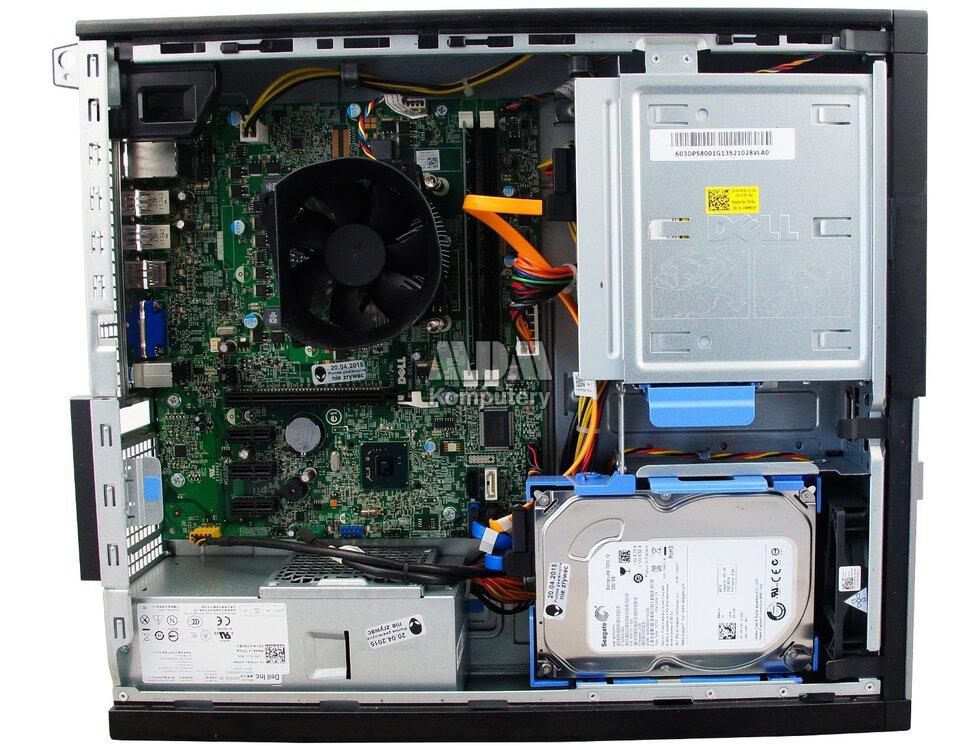 DELL Optiplex 390 Desktop Intel Core i3-2100 3 1GHz 4GB 160GB DVD-RW  Windows 10 Home PL