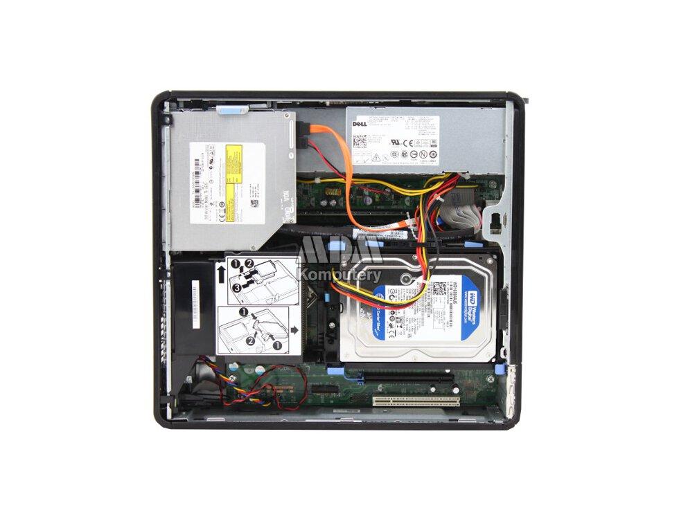 DELL Optiplex 380 SFF Core 2 Duo 2 93GHz 2GB 160GB DVDRW Windows 7