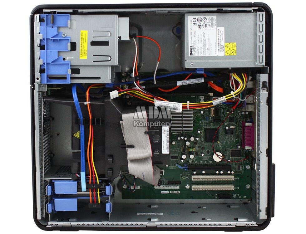 DELL Optiplex 755 Tower Dual Core 1 8GHz 2GB 80GB DVDRW